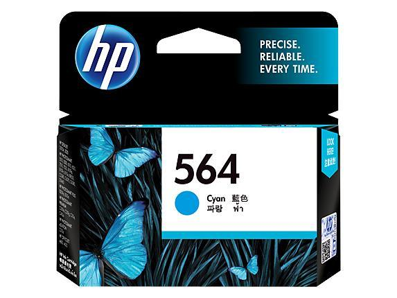 HP 564 Cyan Original Ink Cartridge(CB318WA)
