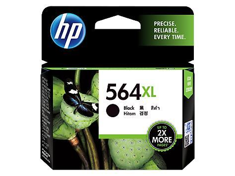 HP 564XL High Yield Black Original Ink Cartridge(CN684WA)