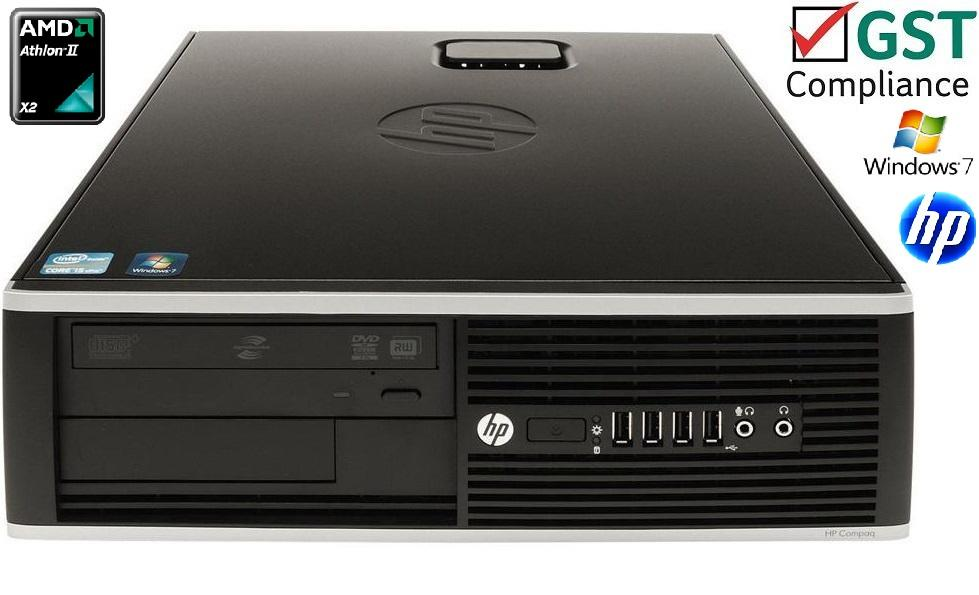 HP 6005 PRO Phenom Quad Core 8GB PC3 320GB Ati DVDRW Windows 7 Pro CPU