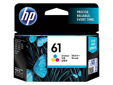 HP 61 Tri-color Inkjet Print Cartridge (1PCH562WA)