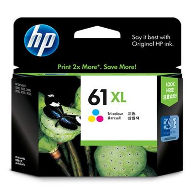 HP 61XL - CH564WA (Color) DeskJet 1050, 2050, 2510 2540 2620 3000 3050