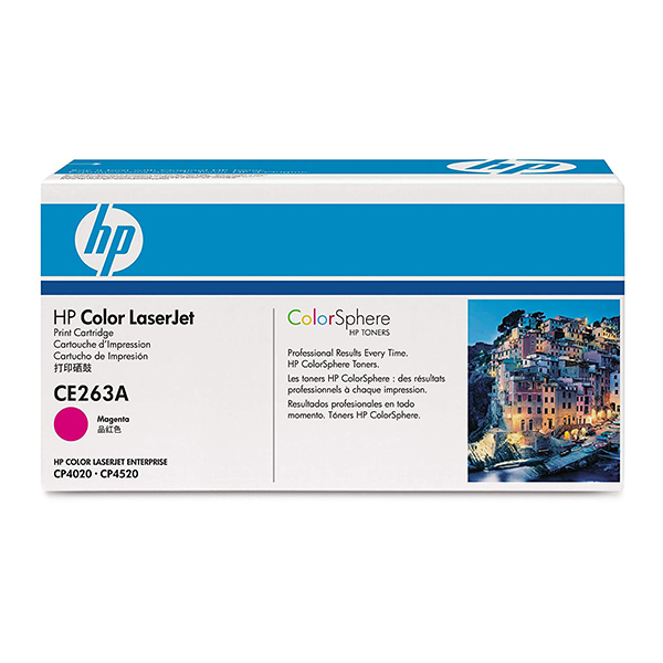 HP 648A (CE263A) Original Toner Cartridge - Magenta - Laser - 11000 Pa