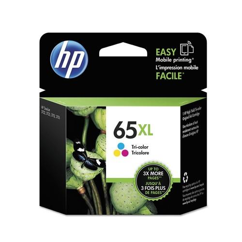 HP 65XL Tri-color Original Ink Cartridge (N9K03AA)