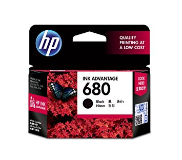 HP 680 Black Ink (Genuine) F6V27AA 2135 3635 4535 3835 4675