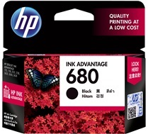 HP 680 Black Ink (Genuine) F6V27AA 3775 3776 3777 2135 3635 4675 1115