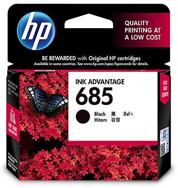 HP 685 Black Ink Cartridge CZ121AA