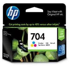 HP 704 Color Ink Cartridge (Genuine) CN693AA D2010, D2060
