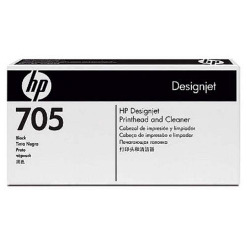 HP 705 DesignJet Printhead/ Printhead Cleaner - Black (CD953A)