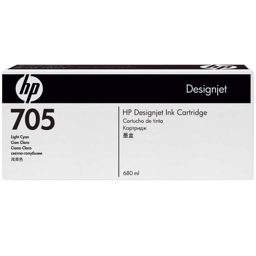 HP 705 Light Cyan Ink Cartridges (CD963A)