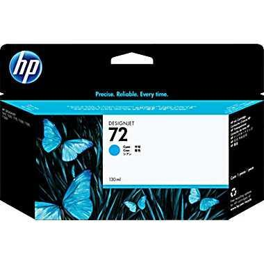 HP 72 130ml Cyan Ink (Genuine) C9371A T610 620 770 1100 1200
