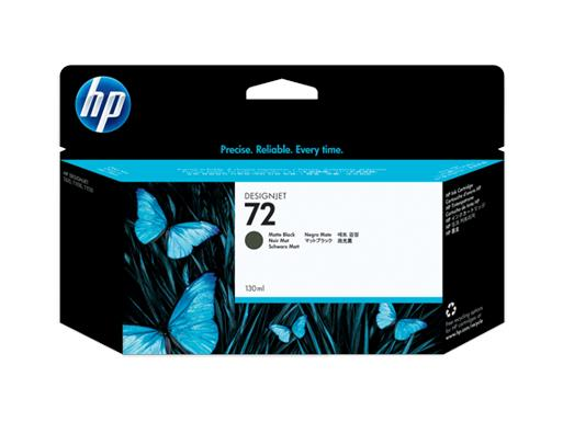 HP 72 130ml Matte Black Ink (Genuine) C9403A T610 620 Expire Old Stock