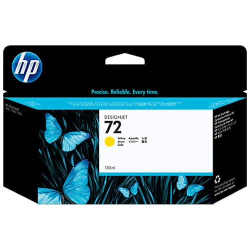 HP 72 130ml Yellow Ink Cartridge (C9373A)