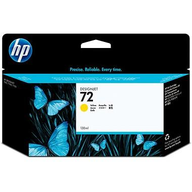 HP 72 130ml Yellow Ink (Genuine) C9373A T610 620 Expire Old Stock 9373