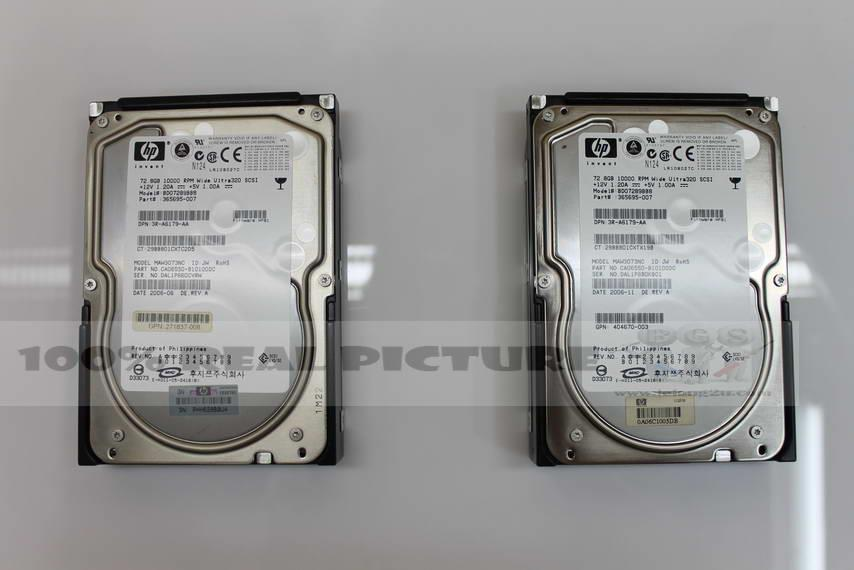 Hp 72.8gb 10000rpm 365695-007 wide ultra320 80pin harddisk