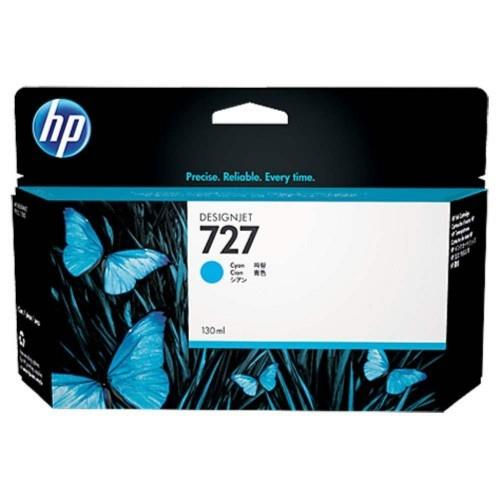 HP 727 130ml Cyan Designjet Ink Cartridge (B3P19A)