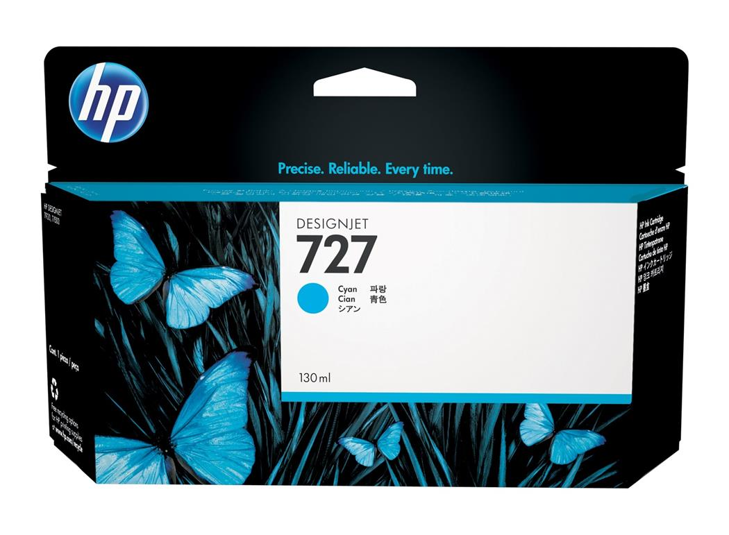 HP 727 130ml Cyan (Genuine) B3P19A T920 T1500 T1530 T2500 T2530