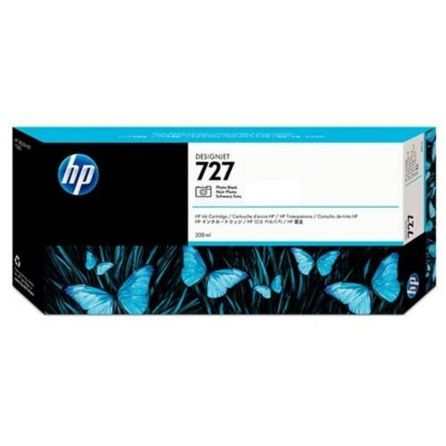 HP 727 300ml Photo Black DesignJet Ink Cartridge (F9J79A)