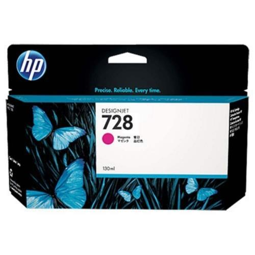 HP 728 130ml Magenta DesignJet Ink Cartridge (F9J66A)