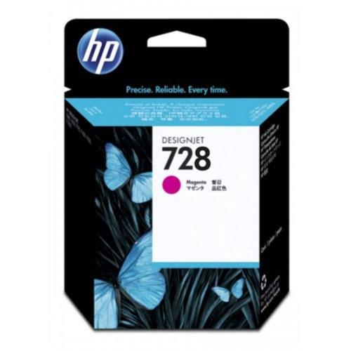 HP 728 40ml Magenta DesignJet Ink Cartridge (F9J62A)
