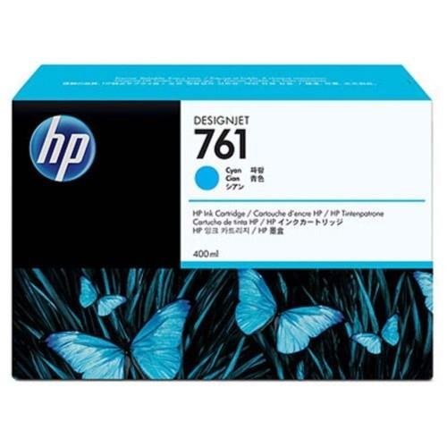 HP 761 400ml Cyan Designjet Ink Cartridge (CM994A)