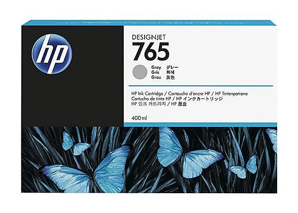 HP 765 (F9J53A) 400ML GRAY INK CARTRIDGE