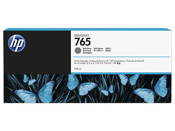 HP 765 (F9J54A) 775ML DARK GRAY INK CARTRIDGE