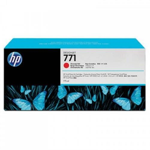 HP 771B 775ml Chromatic Red Designjet Ink Cartridge (B6Y00A)
