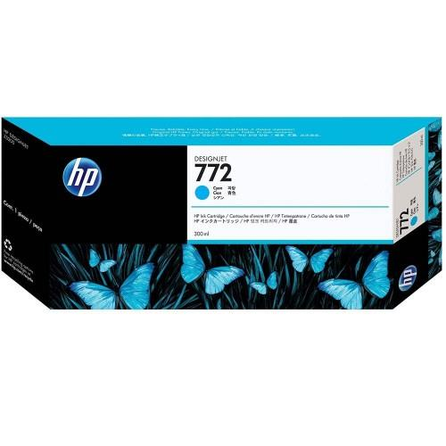 HP 772 DesignJet Ink Cartridge 300ml Cyan (CN636A)