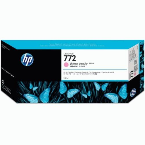 HP 772 DesignJet Ink Cartridge 300ml Light Magenta (CN631A)