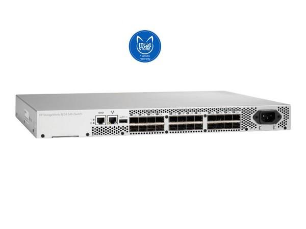 NEW HP 8/24 BASE 16-PORT ENABLE SAN SWITCH-1 YW (AM868C)