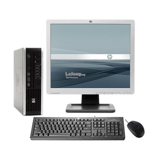Hp 8000f Ultra Slim Desktop C2d 2 66 2gb 80gb Dvd Rw