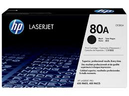 HP 80A CF280A Black Ink Toner Genuine (2700 Pages) 280
