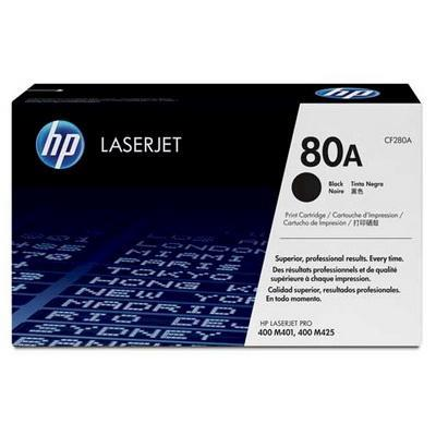 HP 80A CF280A Black Ink Toner (Genuine) For M401/M425
