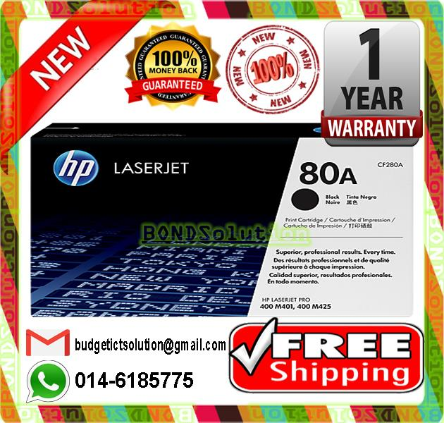 NEW HP 80A / CF280A Toner M401 M425  (FREE SHIPPING)