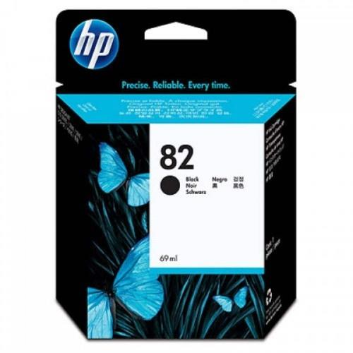 HP 82 69-ml Black Ink Cartridge (CH565A)