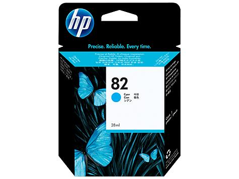 HP 82 69-ml Cyan DesignJet Ink Cartridge(C4911A)