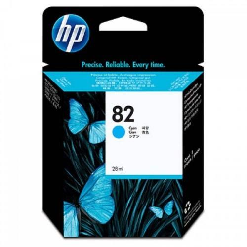 HP 82 69-ml Cyan Ink Cartridge (C4911A)