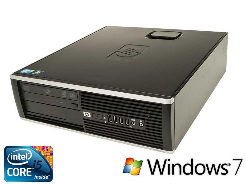 HP 8200 SFF/Intel i5 3.10Ghz/4GB DDR3 /500GB HDD/ DVDROM/WIndow 7 Pro