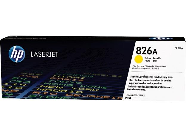 HP 826A Yellow Toner (Genuine) CF312A