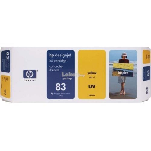 HP 83 DesignJet UV Ink Cartridge 680-ml - Yellow (C4943A)