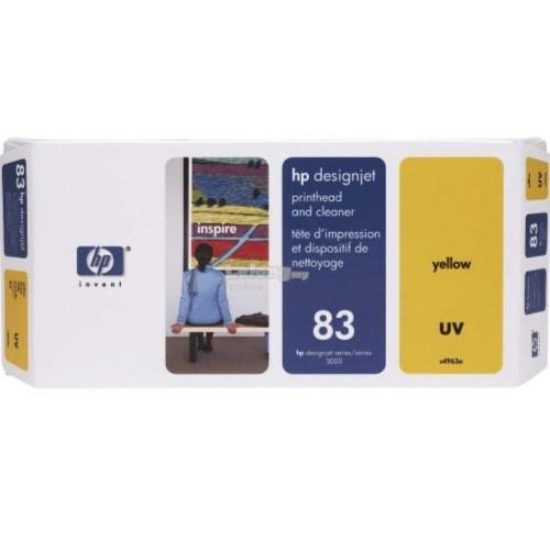 HP 83 DesignJet UV Printhead/Printhead Cleaner - Yellow (C4963A)