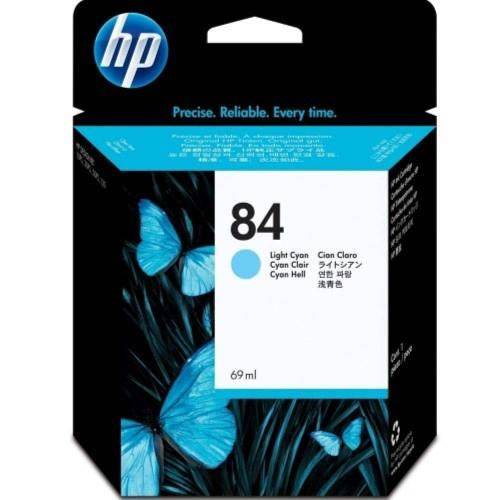 HP 84 DesignJet Ink Cartridge 69-ml - Light Cyan (C5017A)