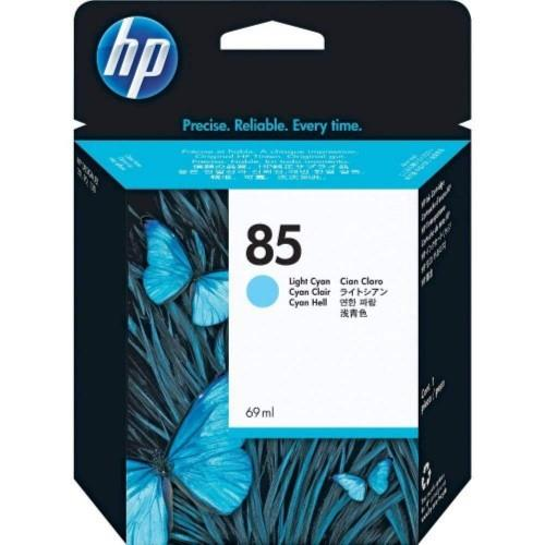 HP 85 DesignJet Ink Cartridge 69-ml - Light Cyan (C9428A)