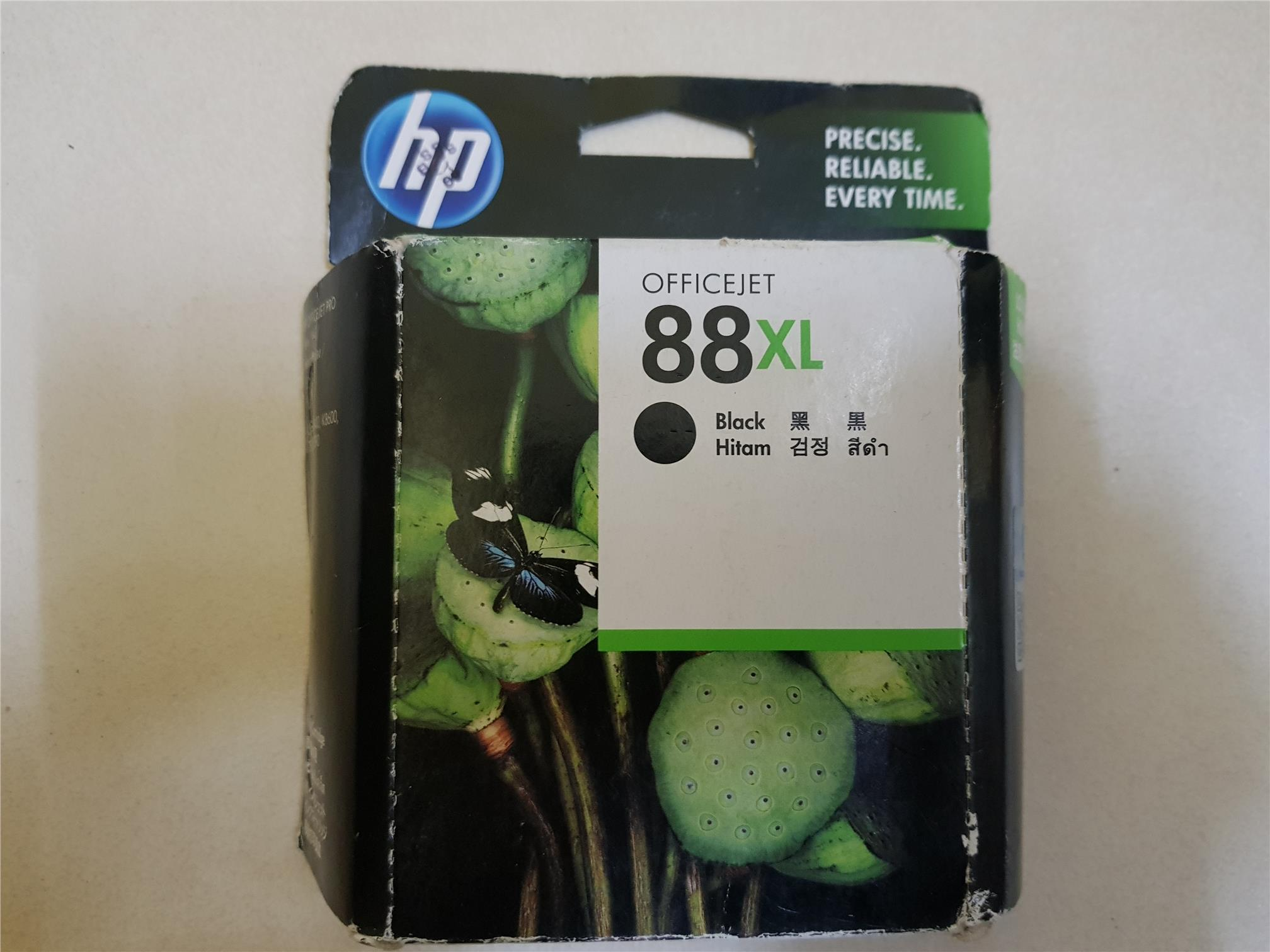 HP 88XL Black Ink C9396A (Genuine) K5400 K550 K8600 Expire mac 2017
