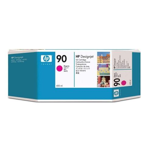 HP 90 400-ml Magenta DesignJet Ink Cartridge (C5063A)
