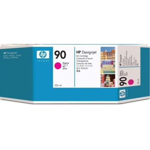 HP 90 DesignJet Ink Cartridge 225-ml Magenta (C5062A)