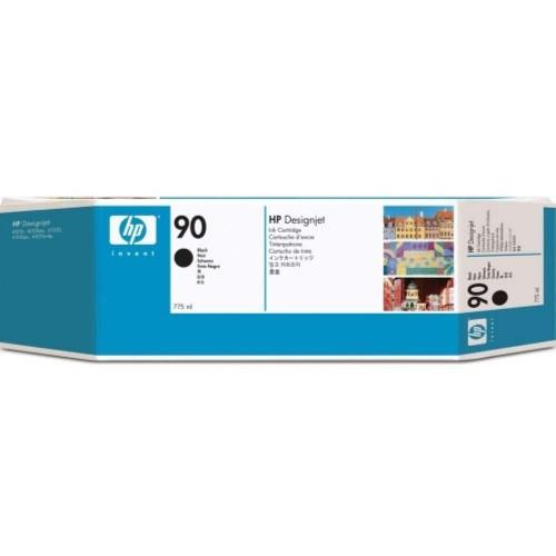 HP 90 DesignJet Ink Cartridge 775-ml Black (C5059A)