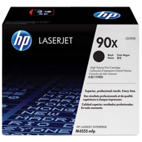 HP 90X Black LaserJet Toner Cartridge (CE390X)