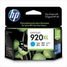 HP 920XL CYAN Ink CD972AA (Genuine) Officejet 6000 6500 920