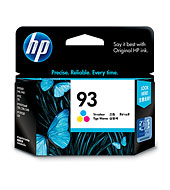 HP 93 Color Inkjet Cartridge(Genuine) C9361WA C3180